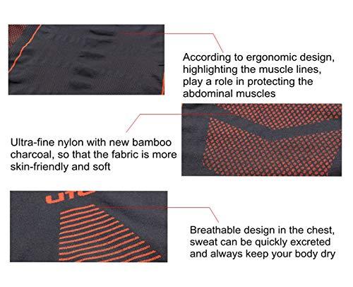 Selighting Men's Functional Underwear Thermoactive Breathable Functional Thermal Underwear Outdoor Sports Cycling…