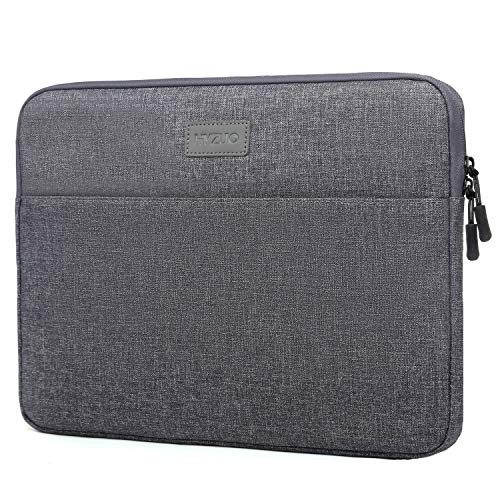 HYZUO Laptop Sleeve Case for 13-13.5 Inch Notebook Tablet Briefcase Bag Compatible with 13.3 MacBook Pro/MacBook Air/ 12.9 iPad Pro/ 12.3 Surface Pro/ 13.5 Surface Laptop 3/2 2018/2017, Dark Grey