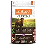 Instinct Grain Free Dry Dog Food, Original Raw Coated Real Rabbit Natural High Protein Dog Food, 20 lb. Bag