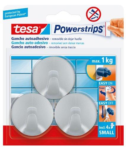 tesa-Powerstrips KLEIN Powerstrips – 00001-01 ring haken, chroom