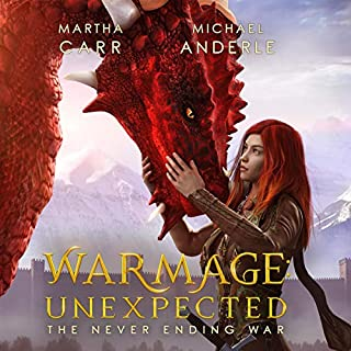 WarMage: Unexpected cover art