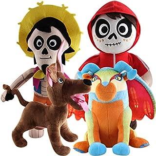 Pixar New Coco Soft Tsum Tsum Plush Toy Miguel Hector Dante Pepita Kids Xmas