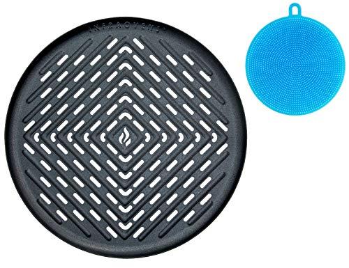 Grillpfannen und Kochutensilien Small to Medium Grill Pan for Round Baskets
