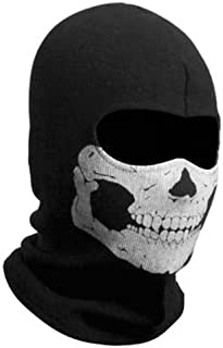 ZZoo Cotton Ghost Mask Skull Heads Warm Scarf Outdoor Cycling Dust Mask Halloween Cosplay Costume