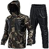 Rodeel Waterproof Fishing Rain Suit for Men (Rain Gear Jacket & Trouser Suit)