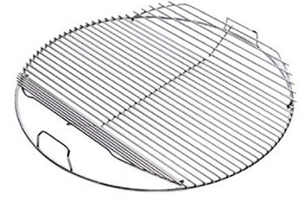 Weber #80628 17-1/2' Hinged Cooking Grate for 18-1/2-inch Kettles.