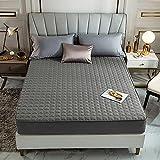 Bolo Design Luxus Matratzenschoner | wie Spannbettlaken | Unterbett | Topper | Matratzen-Auflage auch für Boxspring und Wasserbetten geeignet, extra Soft und weich,Hotelqualität