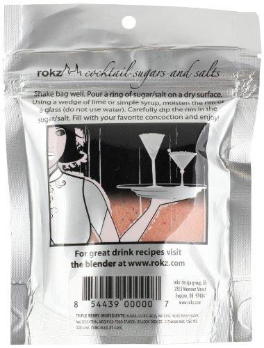 Rokz Triple Berry Cocktail Sugar, 5 Ounce