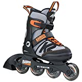 K2Skate Raider, Calzado para niños, Negro y Naranja (Black Orange), 35- 40 EU