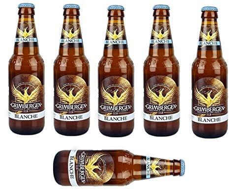 Original Belgisches Bier -GRIMBERGEN Blanche 6% vol 6 x 33 cl. Original inc. 0,48€ MEHRWEG Pfand