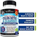 Colon Cleanser & Detox for Weight Loss. 15 Day Extra Strength Detox...