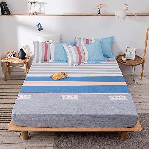 HAIBA Anti alergia cama bug impermeable colchón total cubierta protector,150x200+20cm