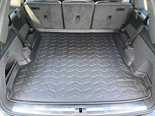 Laser Measured Trunk Liner Cargo Rubber Tray for Audi Q7 2018-2021