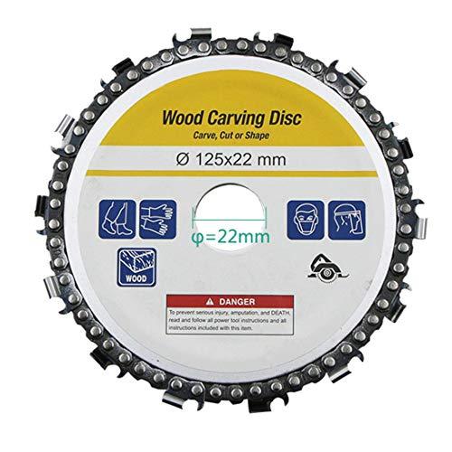 4 inch / 5 inch haakse slijper kettingzagen Disc kettingzaag wiel houtbewerking hout slijpen snijwerk snijgereedschap - geel 5 inch