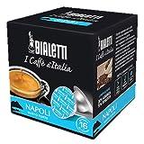 384 Capsule Alluminio Bialetti Mokespresso I Caffe' D'Italia Napoli
