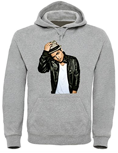 Bruno Mars Funny Mens & Ladies / Herren & Damen Unisex Hooded Pullover (M