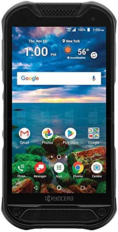 Kyocera DuraForce Pro 2 with Dragontrail PRO Display E6921 Black Unlocked Rugged 4G Android product image
