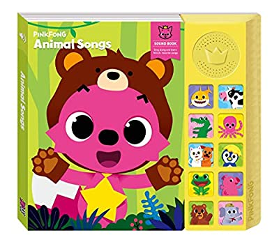 Pinkfong & Baby Shark Sing-Alongs Sound Book