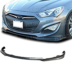 PULips(HYGE13KSFAD) KS Style Front Bumper Lip For Hyundai Genesis Coupe 2013-2016