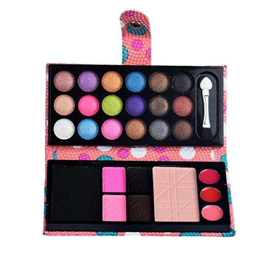 Fard À Paupières,BeautyTop 26 Colors Fard à PaupièRes Ombre à PaupièRes Maquillage CosméTique Fard à PaupièRes Fard à Joues (Rose)