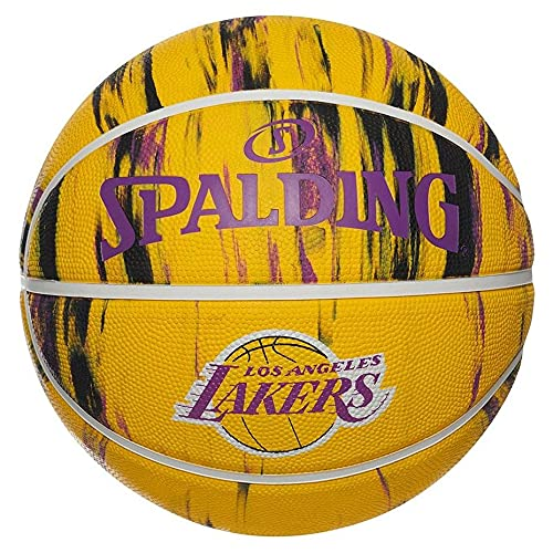 Uhlsport NBA La Lakers Marble 84-095Z - Pelotas de Baloncesto, Multicolor