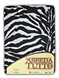 Großer Schal Zebra-Stoff – Sofaüberwurf 1 Tagesdecke Überwurf
