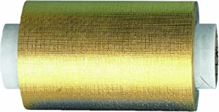 Fripac-Medis Hair Super-Plus Pressed Aluminium Foil 100 m x 12 cm, Gold