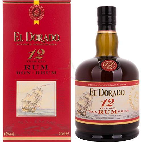 El Dorado 12 Years Old 40,00% 0,70 Liter