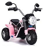 Moto Elettrica per Bambini 6V Kid Go Baby Rosa