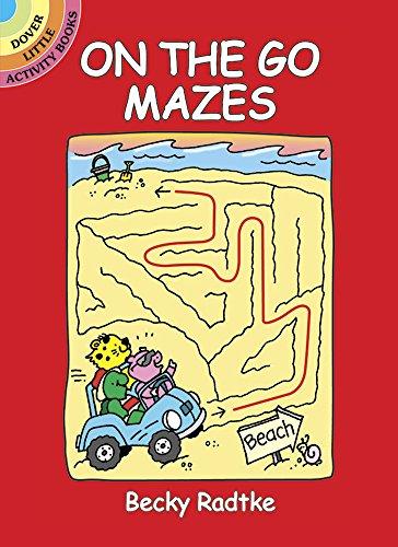 On the Go Mazes (Dover Little Activity Books)
