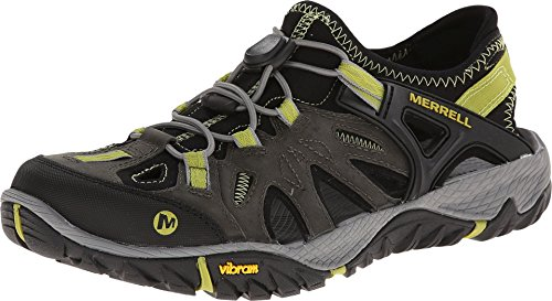 Merrell All Out Blaze Sieve Zapatos de Low Rise Senderismo Hombre, Gris (Castle Rock/Green), 41.5 EU