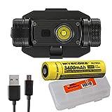Nitecore HC60M 1000 Lumen NVG Mountable USB Rechargeable Tactical Headlamp with a LumenTac Battery Organizer