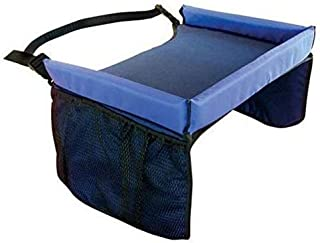 Snack and Play Travel Tray Car Seat - Blue
