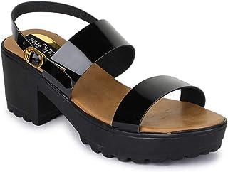 Walkfree Women's Suede Material Sandals