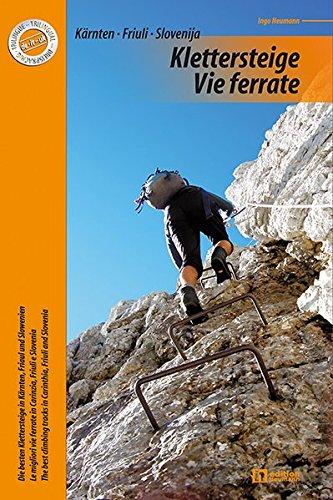 Klettersteige · Vie ferrate: Die besten Klettersteige in Kärnten, Friaul und Slowenien