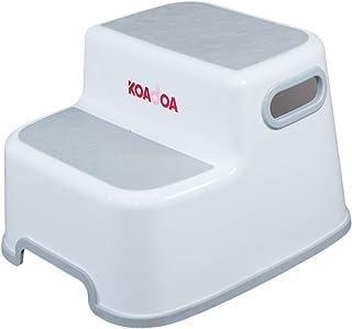 KOADOA 2 Step Stool for Children, Stool for Toddler Toilet Potty Training Wash Hand, Childrens Bathroom Stool Kitchen Step...
