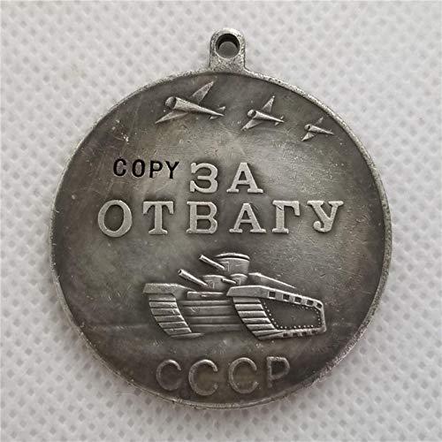 WLTY Medalla de la URSS por el Coraje, Medalla CCCP por el Valor, Medalla de Combate de la Unión Soviética, Servicio meritorio, Insignias de Rusia de la Segunda Guerra Mundial