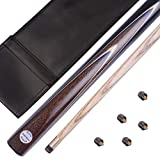 Mark Richard 1/2 Pieces 57 Inches Professional Handmade Snooker Cue Package, (SA16-Screw)
