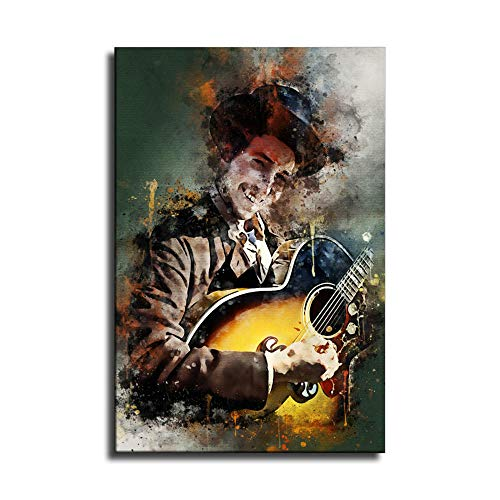 FANER Dylan bob HD Printing 90s Guitarist Poster Album Poster Old Singer Watercolor Painting Posters Printing Art Pictures Ready to Hang