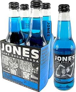 Jones Soda 4 Packs (Blue Bubblegum)