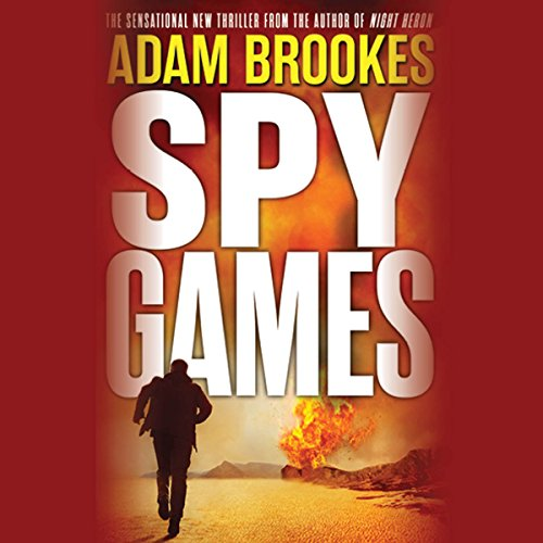 Spy Games audiobook cover art