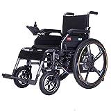 OH Silla de ruedas eléctrica Plegable Ligero Ancianos Discapacitados Inteligente Automático Multifunción Silla de ruedas eléctrica G k