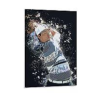 ゴルフ選手イム・ソンジェキャンバスアートポスター装飾画リビングルーム装飾写真16×24インチ(40×60cm)