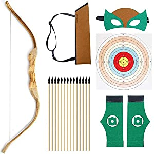 Knidose Beginners Bow and Arrow for Kids