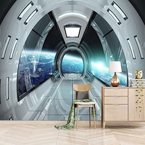 Msrahves Fotomural Vinilo Ciencia ficción naves espaciales espacio Decoración de Pared decorativos Murales Para sala de estar TV fondo pared Murales de pared papel pintado papel de pared dormitorios s