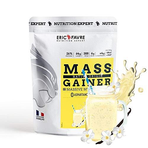 Mass Gainer - Protéines prise de masse rapide et contrôlée - Vanille