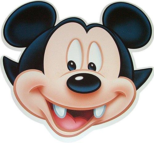 Halloween Disney Mickey Mouse Masques de Costume de Vampire fabriqués à partir de Carte Stiff - Produit Disney Officiel