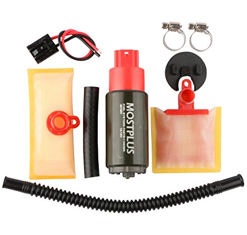 MOSTPLUS Univeral Electric Intank Fuel Pump With Installation Kit Compatible with Multiple Models Replaces E8229 E2068