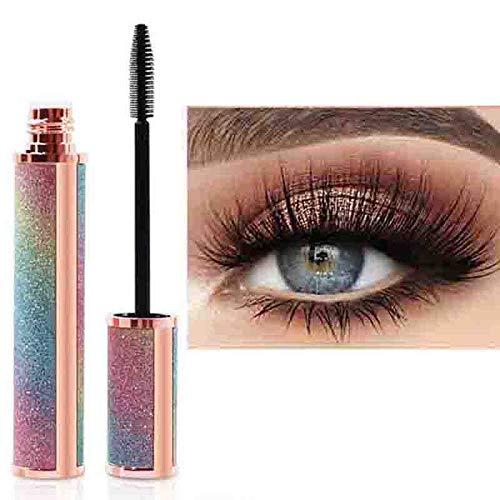 Kilshye Thickening Lengthening Mascara Black Smudgeproof Eyelashes Thick Waterproof Eye Mascara No Clumping Eyes Makeup for Women and Girls