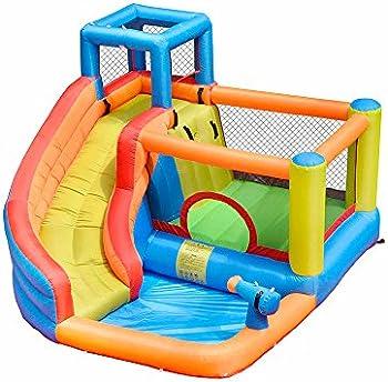 Doctor Dolphin Inflatable Bounce Slide House Jumper Water Slide Park